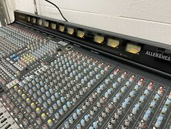 Allen And Heath Gl-3800 32 Track Analog Mixer With Rps-11 Power Supply