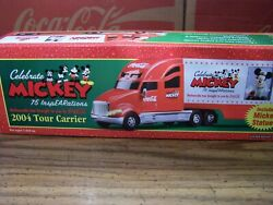 Coca-cola Truck 2004, Celebrate Mickey 75 Inspearations Tour And Mickey Statue