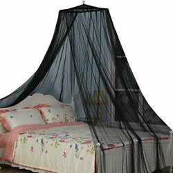 King Size Bed Canopy, Black Color Bed Net For Indoor/outdoor, Camping Or Bedroom