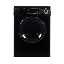 Pinnacle Appliances 18-4400n B Black Clothes Washer/ Dryer Combo Unit