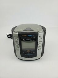 Timex T600b Alarm Clock Am/fm Radio Cd Player Nature Sounds Indiglo Light Is Out