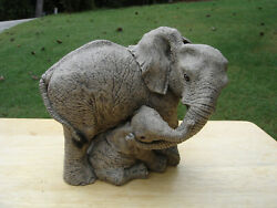 """The Herd Elephant Collection """"rise And Shine 3116 Martha Carey Marty Sculptures"""