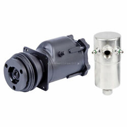 For Buick Skyhawk And Cadillac Deville Oem Ac Compressor And Clutch W/ A/c Drier