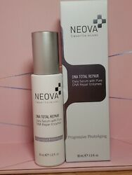 Neova Dna Total Repair 30ml / 1oz. Daily Serum With Pure Dna Repair Enzymes New