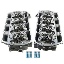 Left + Right Cylinder Head For Ford 6.7l Ohv V8 Diesel F-250 Super Duty New