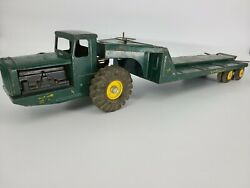 Rare 1956-1958 Vintage Nylint 1700 Tournahauler Construction Tractor Truck Box