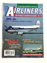 Airliners Magazine Mar/apr 2002 74. Dc-3and039s In Historic Colors Buffalo Airways