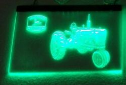 Way Cool John Deere Tractor Lighted Led Hanging Sign