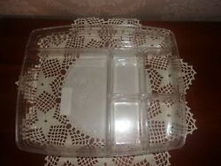 Longaberger Paper Tray Basket 6-way Divided Protector