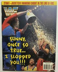 Wwf Wrestling Magazine Sunny September 1996 Wwe W/ Cards And Poster
