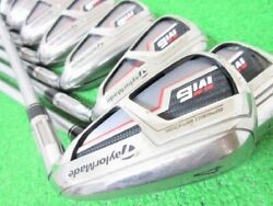 Taylormade M6 Iron 8 Sets 4-aw Fubuki Tm6 S Jp Right-handed From Japan