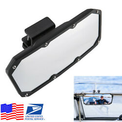 1pcs Marine Yacht Boat Rear View Mirror With Bracket Universal Fit 3/5-1 Bar