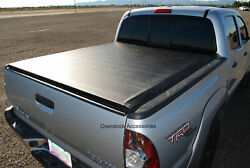 Roll-up Vinyl Truck Bed Tonneau Cover For 05-15 Toyota Tacoma 6.1ft Standard Bed