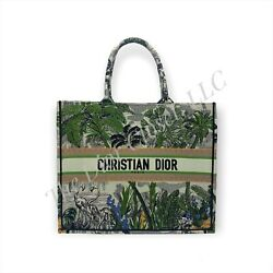 Authentic Dior Book Tote Limited Edition. Large Rare Hard To Find Original