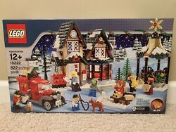 Retired Lego Creator Winter Village Post Office 10222 Brand New Factory Sealed