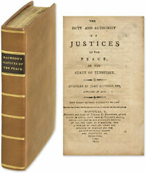 John Haywood / Duty And Authority Of Justices Of The Peace In The State 61650
