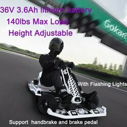 2-color Complete Kids Teenager Go-karts Electric Ride On Racing Scooter Car Usa