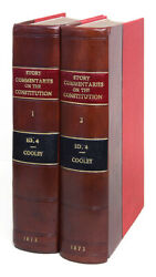 Joseph Story / Commentaries On The Constitution Of The United States 1873 68095