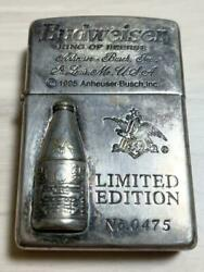 Zippo Oil Lighter Limited Editions Budweiser Three-dimensional Bottle