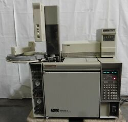 G178378 Hp 5890 Series Ii Gas Chromatograph W/ 7673 Injector, 7673a Controller