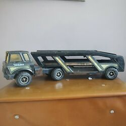 Tonka Mighty Car Transporter Carrier Mr 970 Vintage Toy Rare
