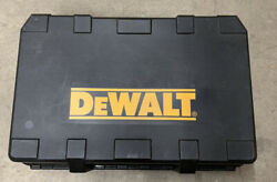 Dewalt Combo Kit Hard Carry Case Only For 18v Saw, Drill,sawall, Battery,charger