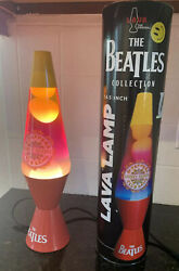 Beatles Collectible The Beatles Lonely Hearts Groovy Lava Lamp See Desc