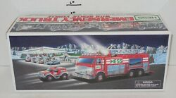 2005 Hess Gasoline Emergency Truck Lights And Sounds Nib New In Box