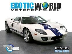 2005 Ford Ford Gt Coupe 2005 Ford Gt Coupe 6809 Miles White Coupe 5.4l 6-speed Manual