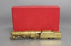 Key Imports Brass Ho Nandw K-2a 4-8-2 Mountain Steam Locomotive And Tender Ex/box