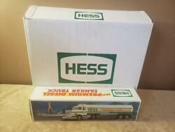 Hess 1993 Premium Diesel Tanker Old Stock In Box Never Played With