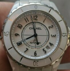 J12 White Ceramic Automatic Free Shipping Within The U.s.
