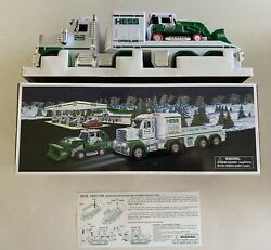 2013 Hess Toy Truck And Tractor- New In Box-tested