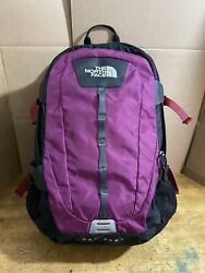 Euc The Hot Shot Backpack Padded For Laptop Purple Free Shipping