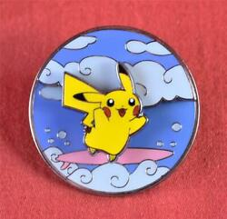 Pokemon Celebrations Collectorand039s Pin 25th Anniversary Flying And Surfing Pikachu