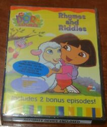 NEW Dora the Explorer: Rhymes and Riddles DVD 2003 sealed