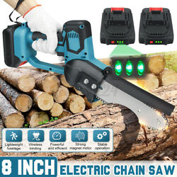1200w Cordless Electric Chain Saw Wood Mini Cutter One-hand Saws Woodworking Rr