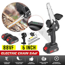 3500w Cordless Electric Chain Saw Wood Mini Cutter One-hand Saws Woodworking Rr