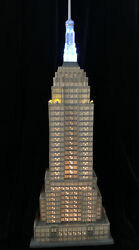Dept 56 Empire State Building Christmas In The City Series/ Historical Landmark