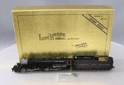 Precision Scale Company 16890-1 Ho Scale Brass Nandw Y4 Steam Loco. And Tender [dcc]