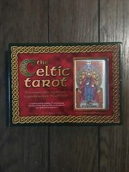 The Celtic Tarot Deck And Book Set-courtney Davis And Helena Paterson-nib Sealed