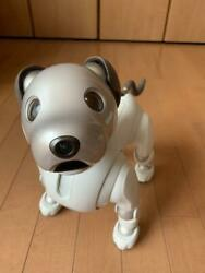 Sony Aibo Ers-1000 Entertainment Robot Dog Ivory White From Jp Used Good