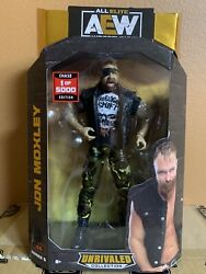 AEW Unrivaled Series 5 Jon Moxley Chase Variant 1 5000 RARE Action Figure
