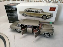 Cmc 118 M-204 Mercedes Benz 600 Pullman W100 Sold Out By Cmc