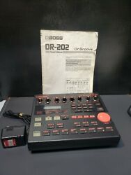 Boss Dr-202 Dr Groove Drum Machine Power Supply Manual