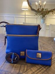 Dooney and Bourke Crossbody French Blue with Wallet $158.00