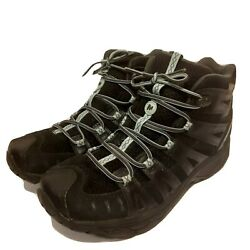 Merrell Boots Hiking Camping Backpacking Womenand039s Size 8.5 - Rare Black And Blue