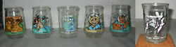 You Pick 1 Welches Jelly Glass Lion Kingmuppets In Spacedr.suesstom And Jerry