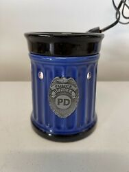 Scentsy Warmer Full Size Retired Used Police Officer