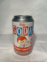 Freddy Funko Soda Nyc Comic Con Exclusive Unopened Chance For Chaseandnbsp